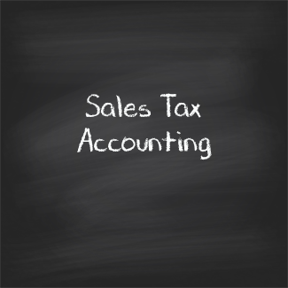 Sales Tax Accounting